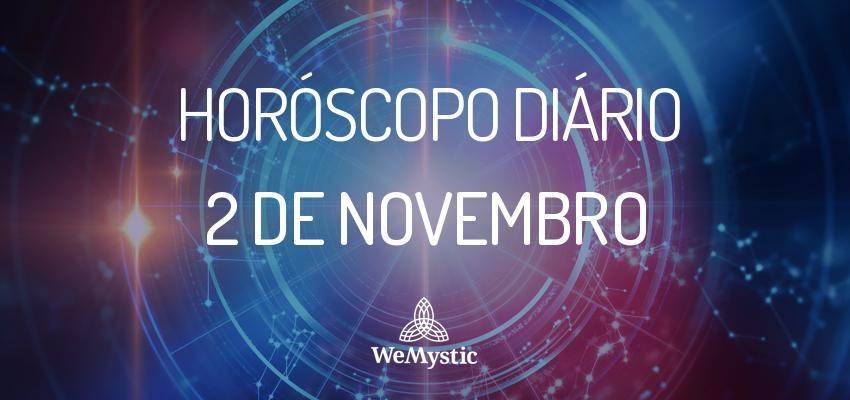 Horóscopo do dia 2 de Novembro de 2017: previsões para esta quinta-feira
