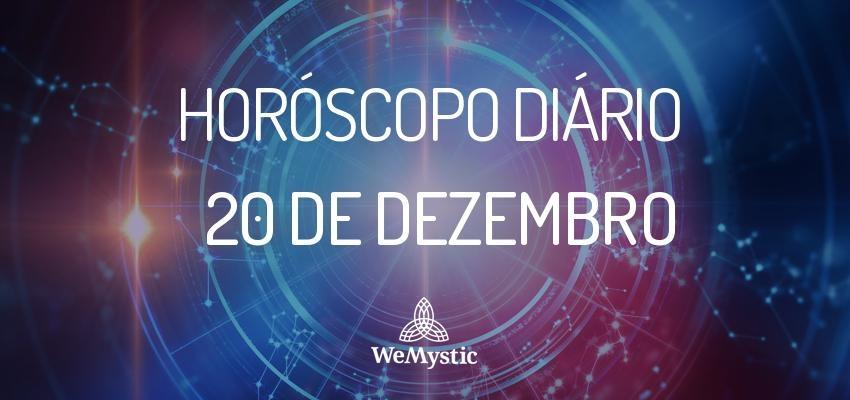 Horóscopo do dia 20 de Dezembro de 2017: previsões para esta quarta-feira