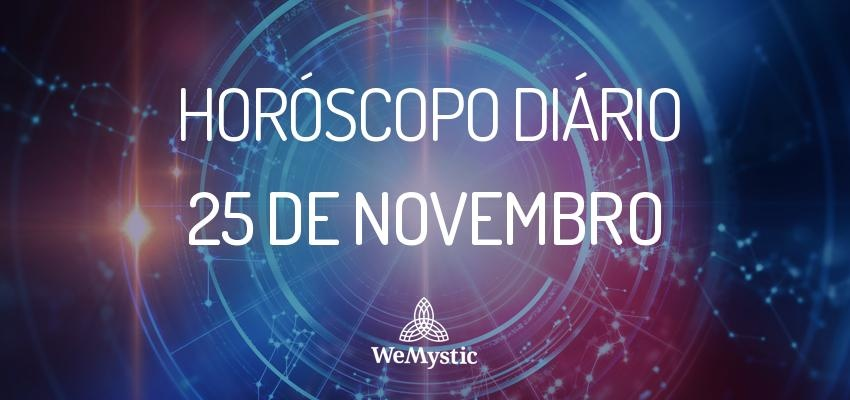 Horóscopo do dia 25 de Novembro de 2017: previsões para este sábado