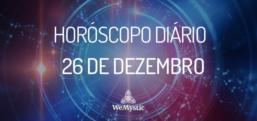 Horóscopo do dia 26 de Dezembro de 2017: previsões para esta terça-feira