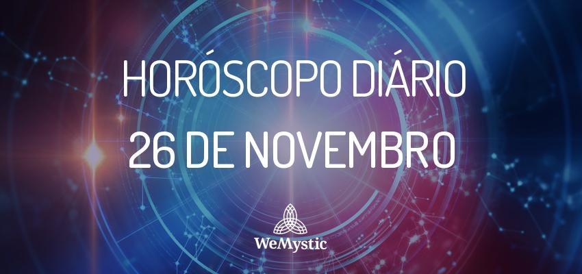 Horóscopo do dia 26 de Novembro de 2017: previsões para este domingo