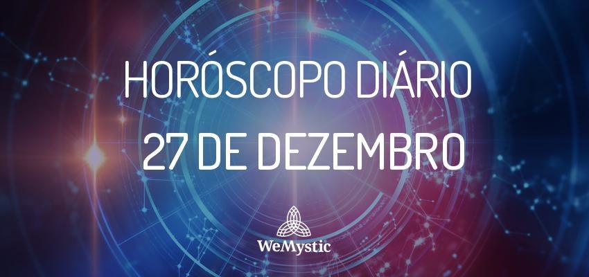 Horóscopo do dia 27 de Dezembro de 2017: previsões para esta quarta-feira