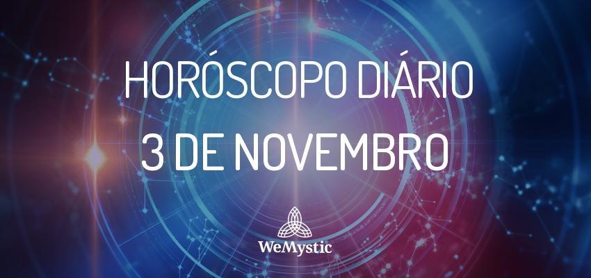 Horóscopo do dia 3 de Novembro de 2017: previsões para esta sexta-feira