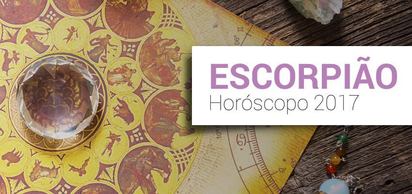 Previsão Completa do Horóscopo 2017 para Escorpião