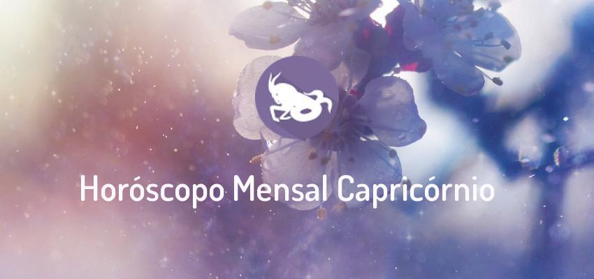 Horóscopo Signo Capricórnio - Horóscopo Mensal de Capricórnio