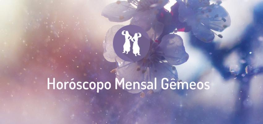 Horóscopo Signo Gêmeos - Horóscopo Mensal de Gêmeos