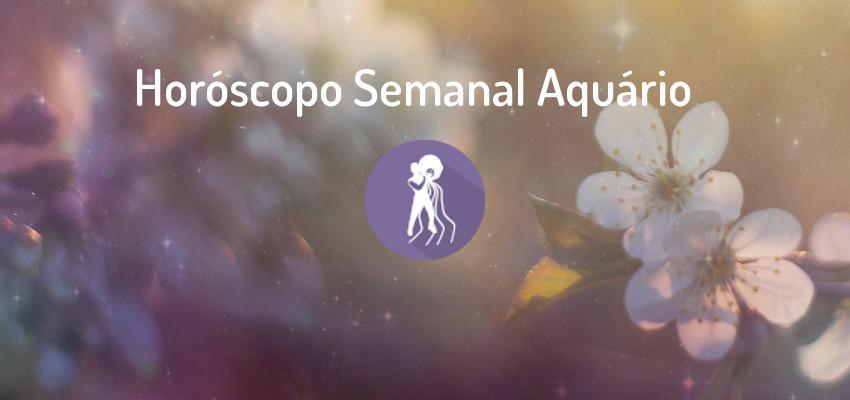 Horóscopo Semanal | Aquário