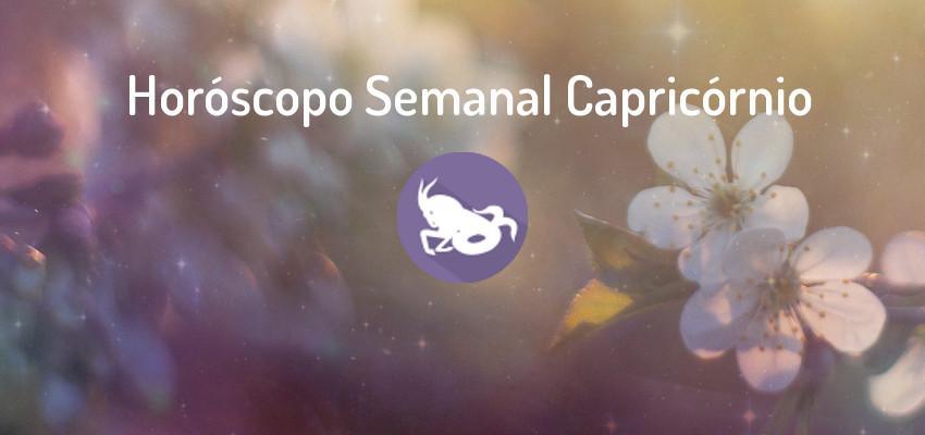 Horóscopo Signo Capricórnio - Horóscopo Semanal Capricórnio