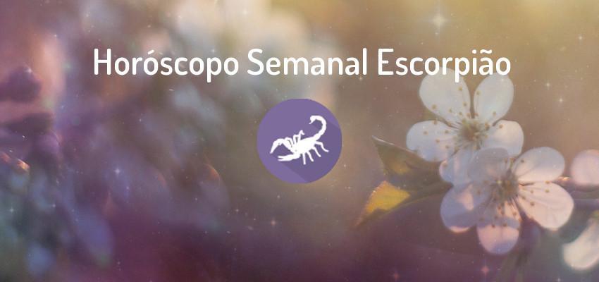 Horóscopo Signo Escorpião - Horóscopo Semanal Escorpião
