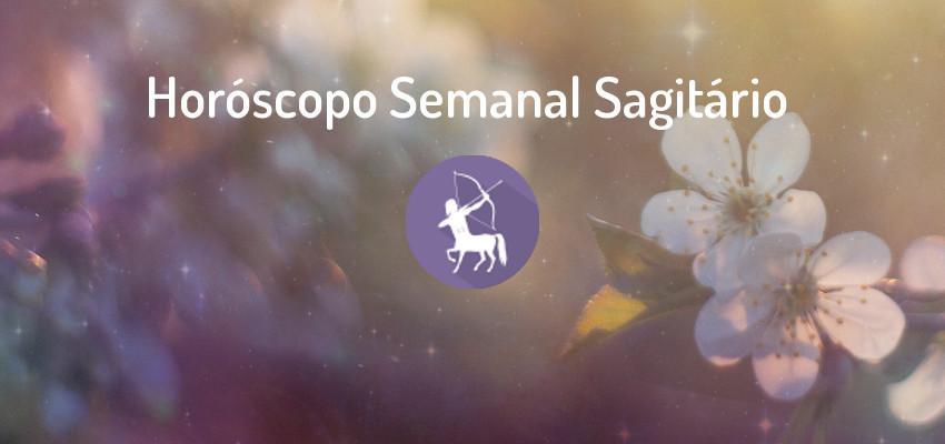 Horóscopo Signo Sagitário - Horóscopo Semanal Sagitário