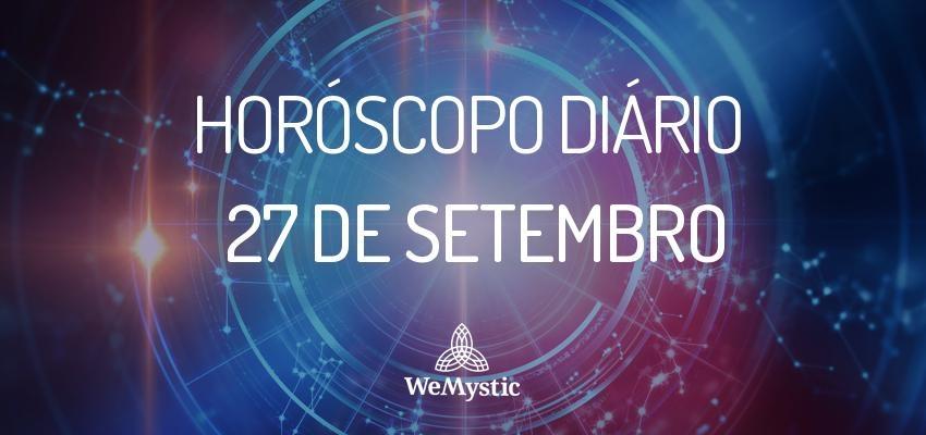 Horóscopo do dia 27 de setembro de 2017: previsões para esta quarta-feira