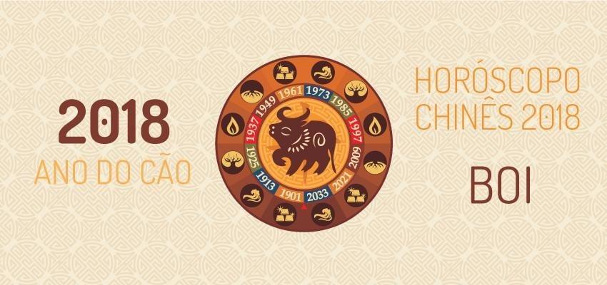 Horóscopo Chinês 2018: como será o ano para signo Boi