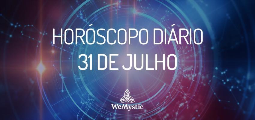 Horóscopo do dia 31 de julho de 2017