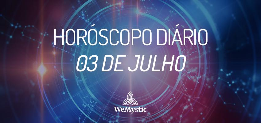 Horóscopo do dia 03 de julho de 2017