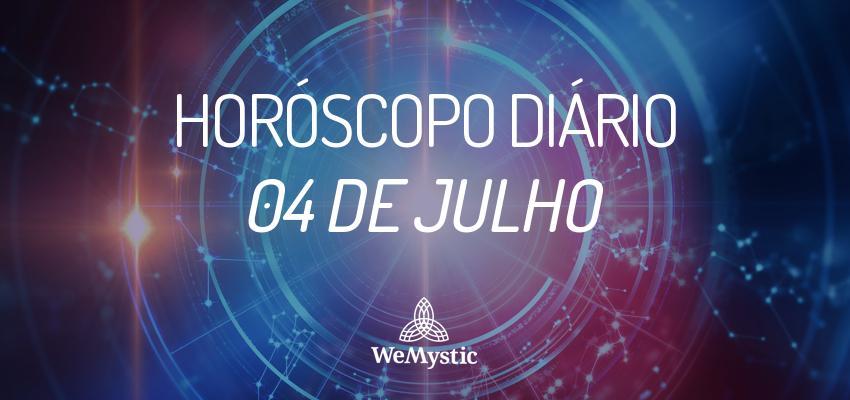 Horóscopo do dia 4 de julho de 2017