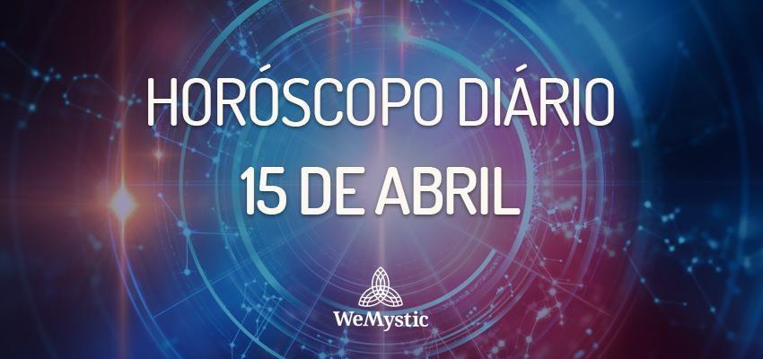 Horóscopo do dia 15 de Abril de 2018: previsões para este domingo