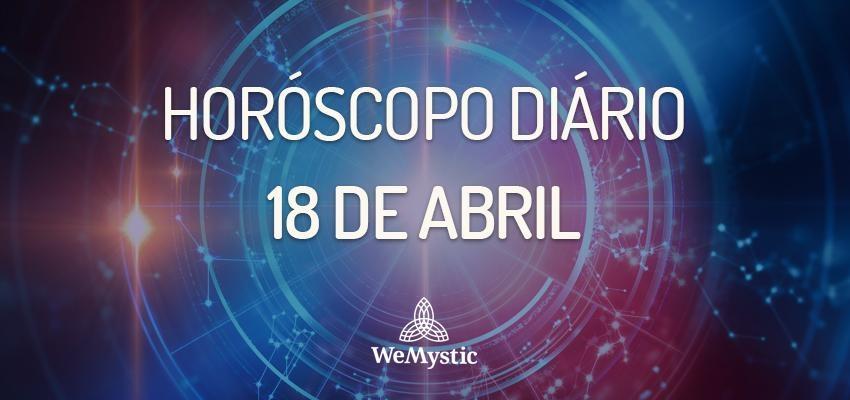 Horóscopo do dia 18 de Abril de 2018: previsões para esta quarta-feira