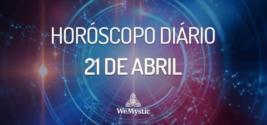 Horóscopo do dia 21 de Abril de 2018: previsões para este sábado