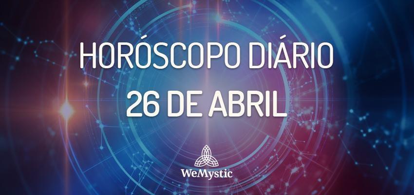 Horóscopo do dia 26 de Abril de 2018: previsões para esta quinta-feira