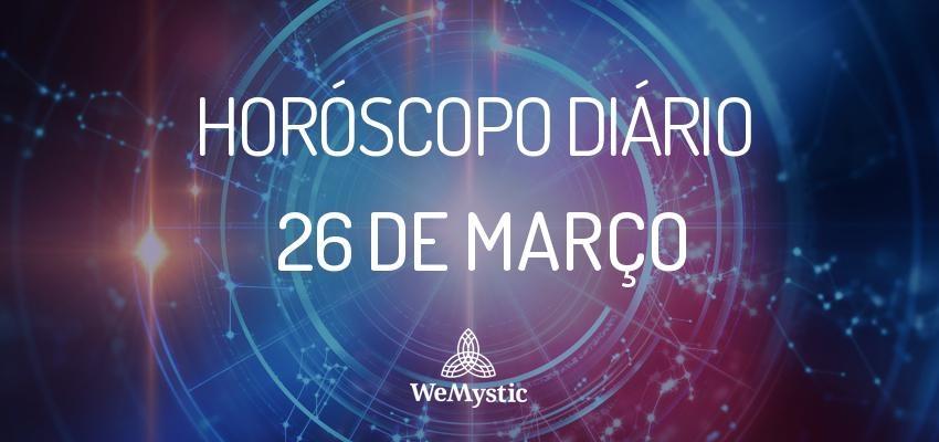 Horóscopo do dia 26 de Março de 2018: previsões para esta segunda-feira