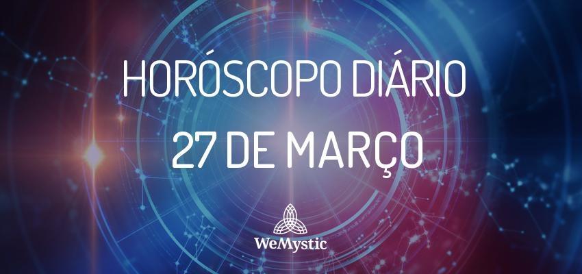 Horóscopo do dia 27 de Março de 2018: previsões para esta terça-feira