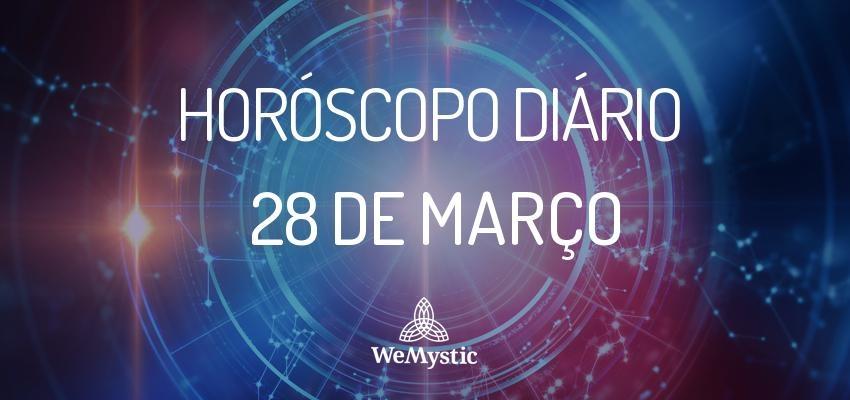 Horóscopo do dia 28 de Março de 2018: previsões para esta quarta-feira