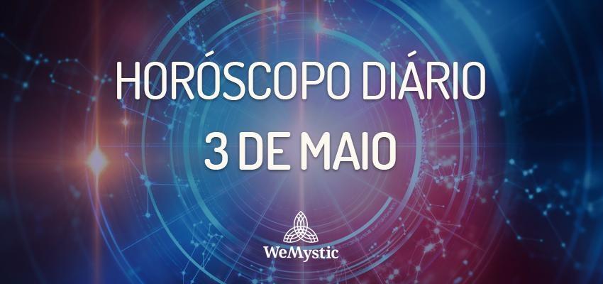 Horóscopo do dia 3 de Maio de 2018: previsões para esta quinta-feira