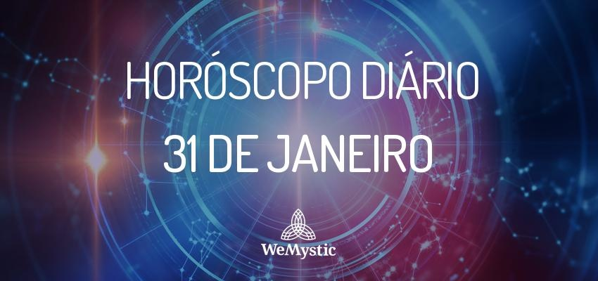 Horóscopo do dia 31 de Janeiro de 2018: previsões para esta quarta-feira