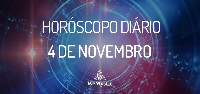 Horóscopo do dia 4 de Novembro de 2017: previsões para este sábado