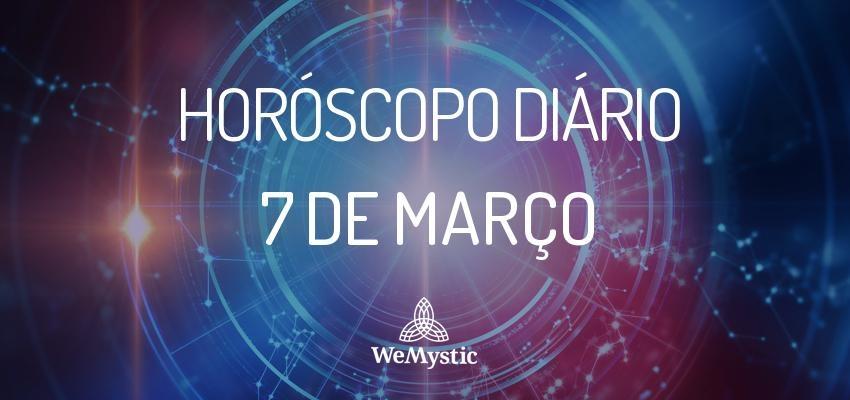Horóscopo do dia 7 de Março de 2018: previsões para esta quarta-feira