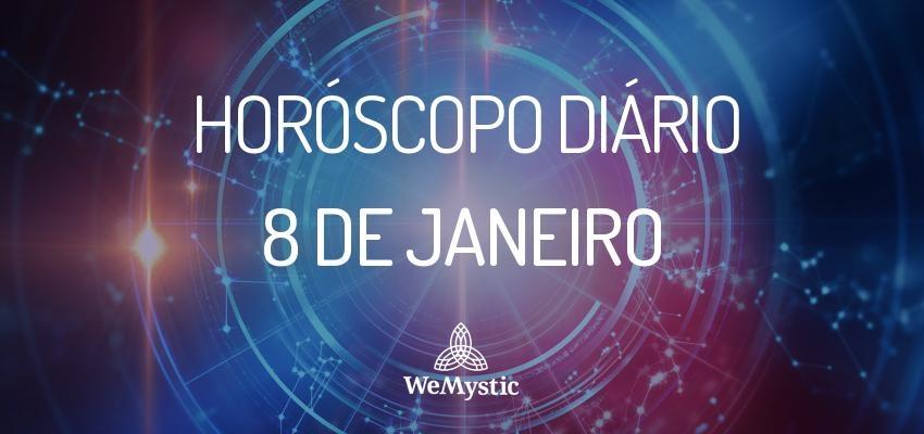 Horóscopo do dia 08 de Janeiro de 2018: previsões para esta segunda-feira
