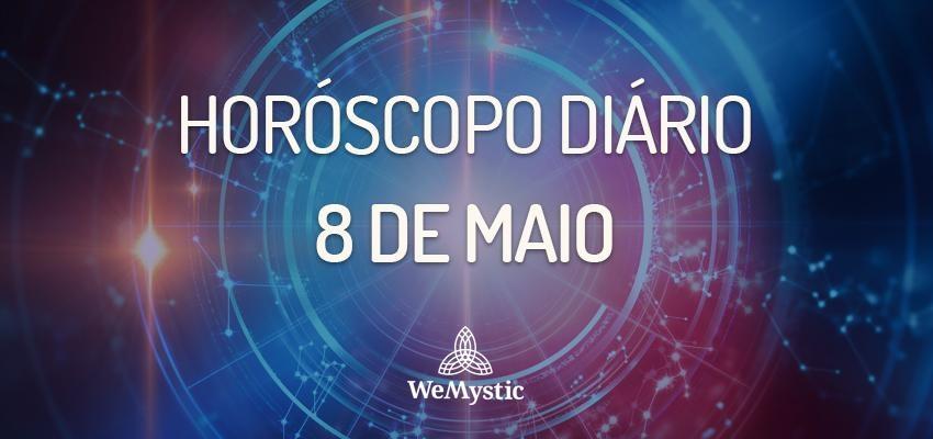 Horóscopo do dia 8 de Maio de 2018: previsões para esta terça-feira