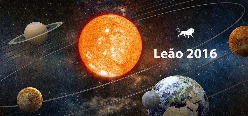 Previsão Completa do Horóscopo 2016 para Leão