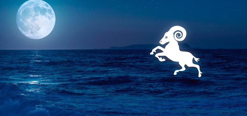 A Lua em Áries