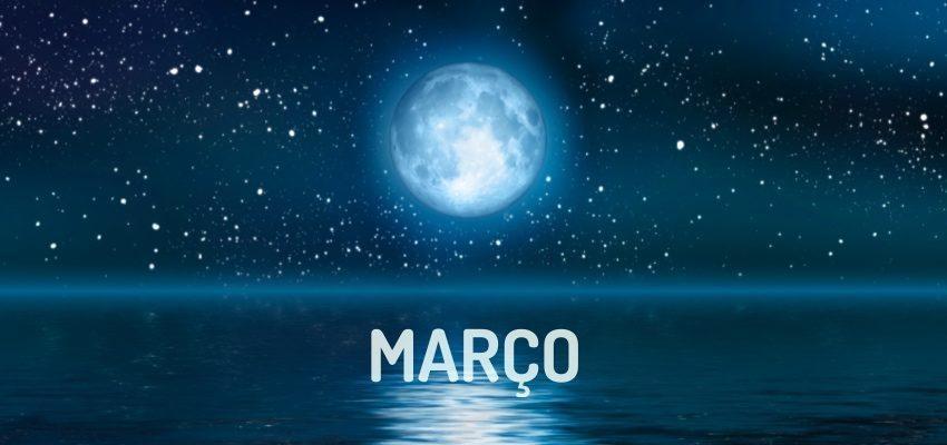 Fases da Lua em Março de 2018