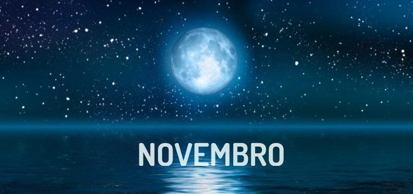 Fases Da Lua Em Novembro De 2018 Wemystic Brasil