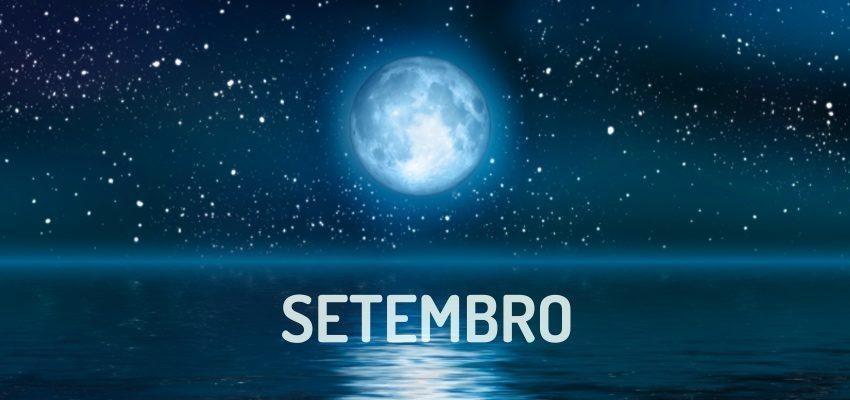 Fases da Lua em Setembro de 2018