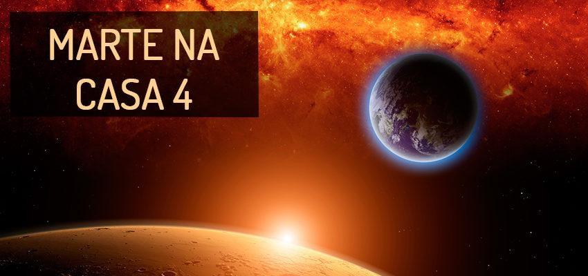 Marte na Casa 4: perfil e significados