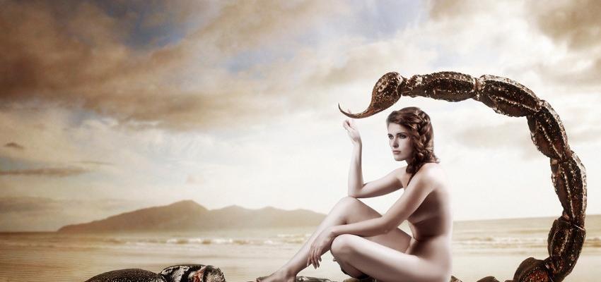 A temperamental e avassaladora mulher de Escorpião