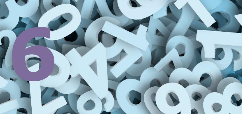 Numerologia 2017 – previsões para quem tem personalidade número 6