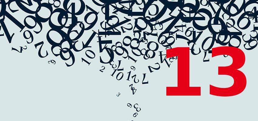Numerologia – a personalidade de quem nasce no dia 13