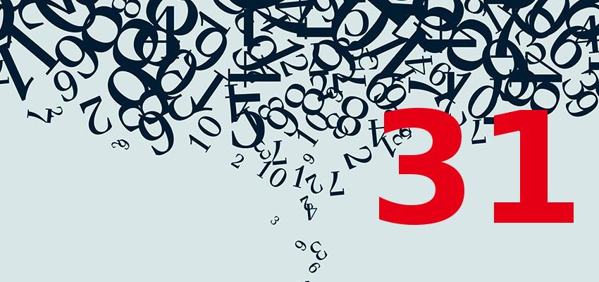 Numerologia – como ter nascido no dia 31 influencia sua personalidade
