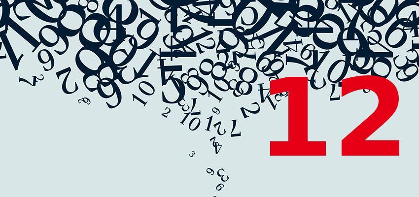Numerologia – descubra a personalidade de quem nasce no dia 12