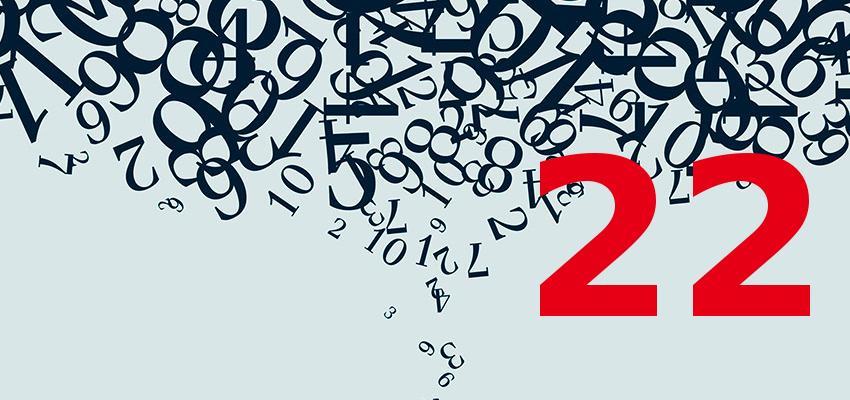 Numerologia – descubra a personalidade de quem nasce no dia 22