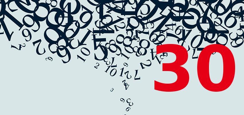 Numerologia – descubra a personalidade de quem nasce no dia 30