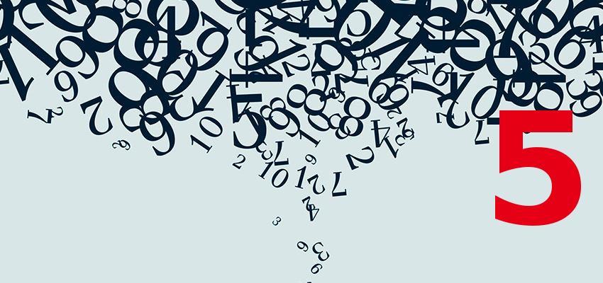 Numerologia – descubra a personalidade de quem nasce no dia 5