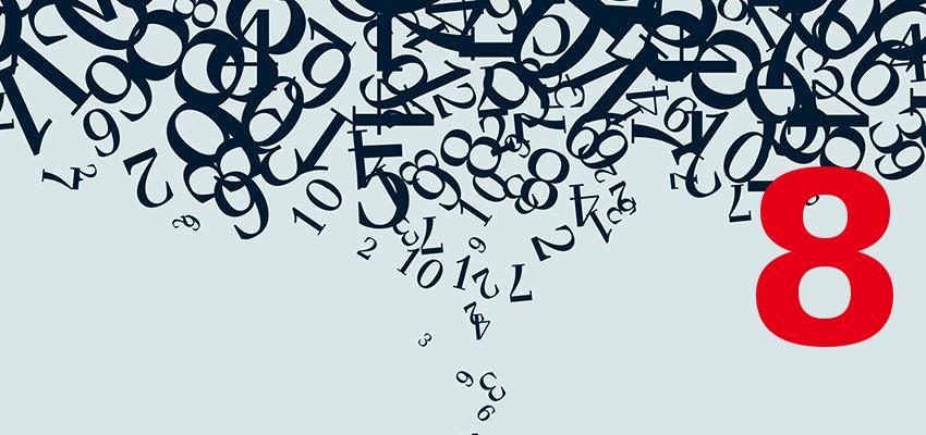 Numerologia – descubra a personalidade de quem nasce no dia 8