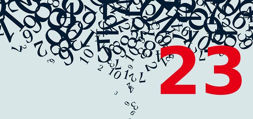 Numerologia - Veja a influência que nascer no dia 23 traz à sua personalidade