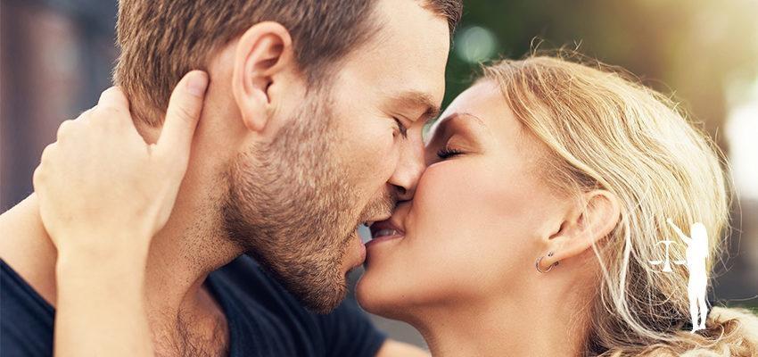 O beijo de cada signo: o cuidado e precisão de Libra