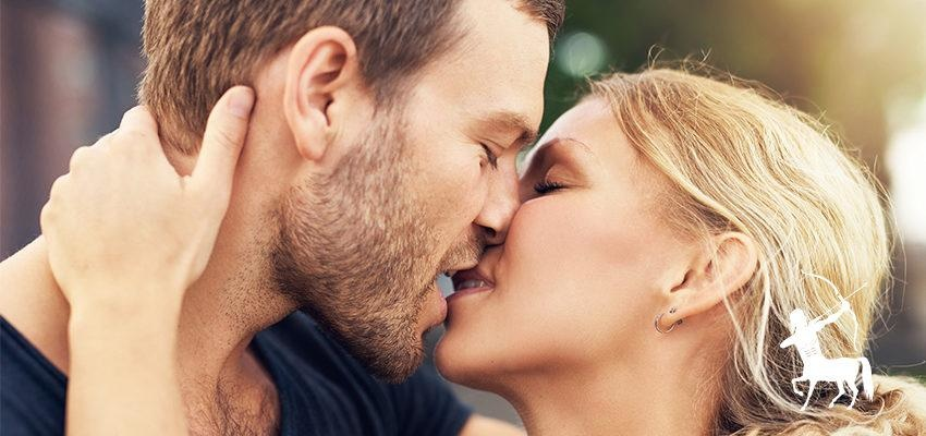 O beijo de cada signo: um despojado e envolvente Sagitário
